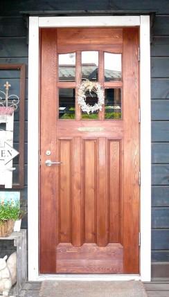 木製ドア1