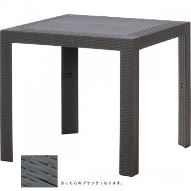 ステラ テーブル 80角 ブラック