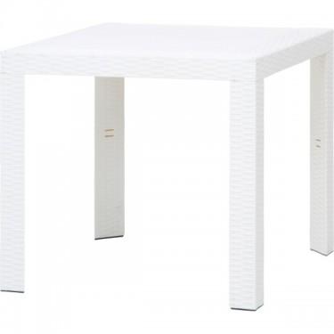 ステラ テーブル 80角 ホワイト