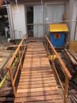 レッドシダー 桟橋 DIY