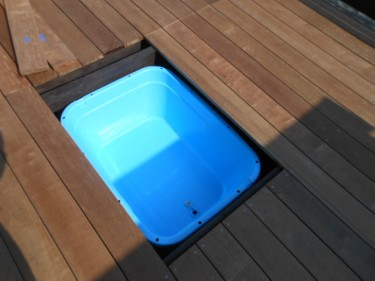 足湯スペース設置