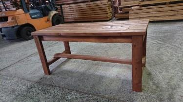 レッドシダー製ガーデンテーブル&ベンチ