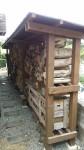 薪棚 レッドシダー DIY