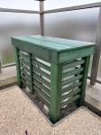 ウエスタンレッドシダーでエアコン室外機カバーを自作