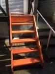 ウェスタンレッドシダーのウッドデッキ DIY