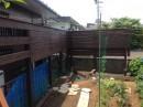 イタウバ ウッドフェンス DIY