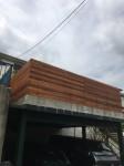 ウッドフェンス レッドシダー DIY